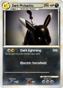 Dark Pickachu