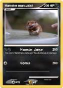 Hamster man