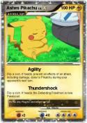 Ashes Pikachu