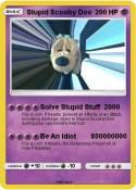 Stupid Scooby
