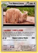 Fat Mama Llama