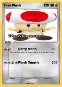 Toad Plush