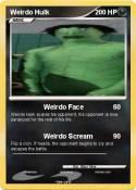 Weirdo Hulk