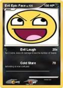 Evil Epic Face