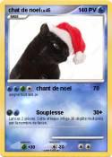 chat de noel