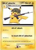 AK-47 pikachu