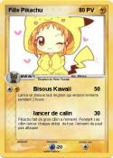 Fille Pikachu