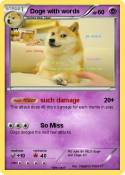 Doge with words