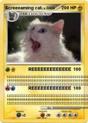 Screeeaming cat