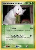 chat mangeur de
