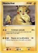 Pikachu Real