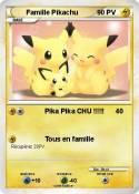 Famille Pikachu