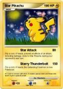 Star Pikachu