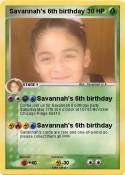 Savannah's 6th