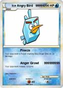 Ice Angry Bird