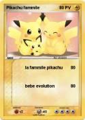 Pikachu fammile