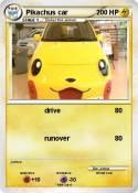 Pikachus car