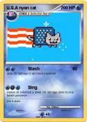 U.S.A nyan cat