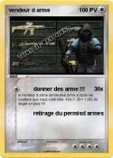 vendeur d arme