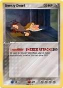 Sneezy Dwarf