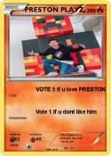 PRESTON PLAYZ