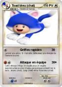 Toad bleu