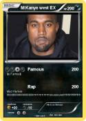 M Kanye west EX