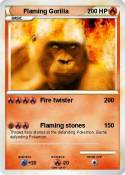 Flaming Gorilla