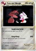 Foxy and Mangle