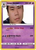 Asian Sticker