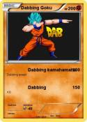 Dabbing Goku