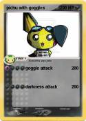 pichu with gogg