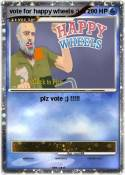 vote for happy