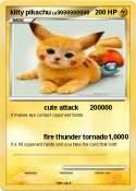 kitty pikachu