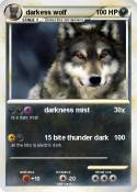 darkess wolf