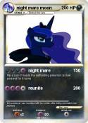 night mare moon