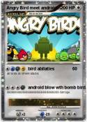 Angry Bird meet
