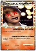 who votes to