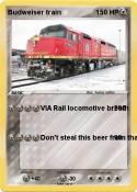 Budweiser train