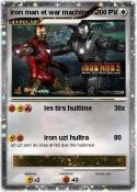 iron man et war