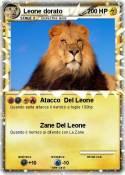 Leone dorato