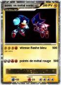sonic vs métal