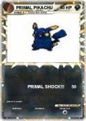 PRIMAL PIKACHU