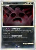 Dead monster