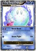 Snow Bowl Kirby