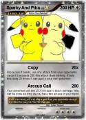 Sparky And Pika