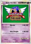 Sonic For Hire