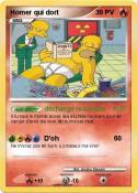 Homer qui dort
