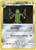 Lit Pickle Rick