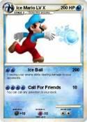 Ice Mario LV X